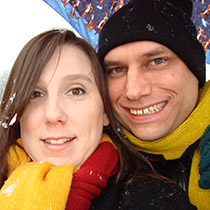 Seth Pajak and Elena Paulsen
